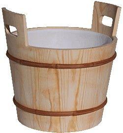 Sauna Aufgusseimer 17L