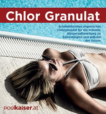 Chlor Granulat Schnelllösliches organisches Chlorgranulat 56%