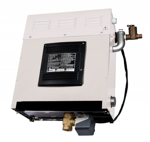 Dampfbad Dampfgenerator 5kW 1/2 Phasenanschluss