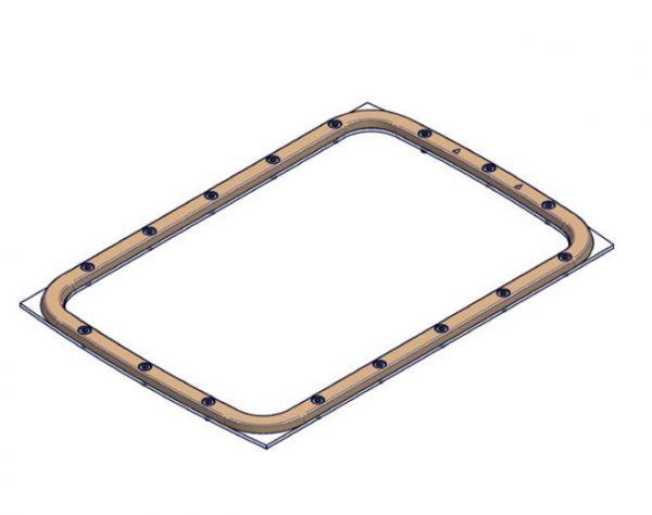 ESSENCE Flanschsatz GBZ10 für Einbausatz zur Gegenstromanlage