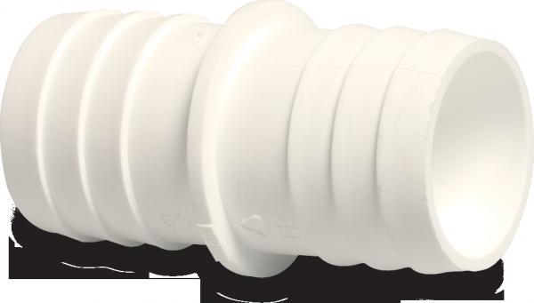 Schlauchtülle ABS 38 mm Schlauchtülle PN10 WEISS