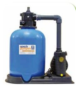 Kompaktfilteranlage Rom DM 500mm Kunststoff mit Pumpe
