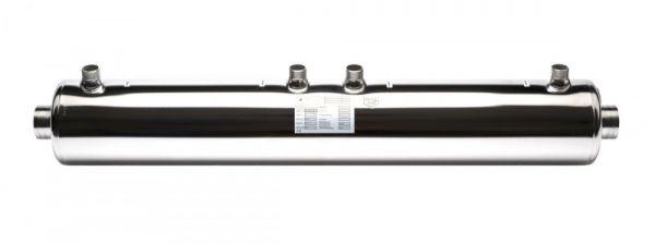 Heizungswärmetauscher HWT 122/146 KW V4A für Pool