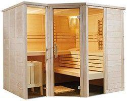 Domo Sauna Arktis Infra+ 234x206x204cm