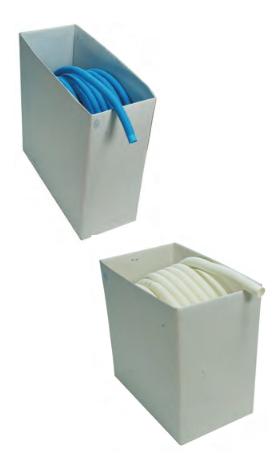 Schwimmschlauch NW38/ 100m Bund blau