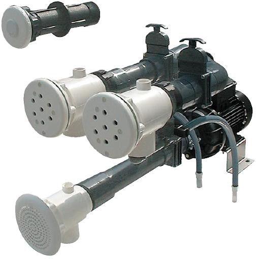 Fertigmontagesatz für Massagestation ABS 2,6kW/400V