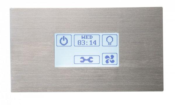 Dampfbad Dampfgenerator Touch-Bedienteil STP