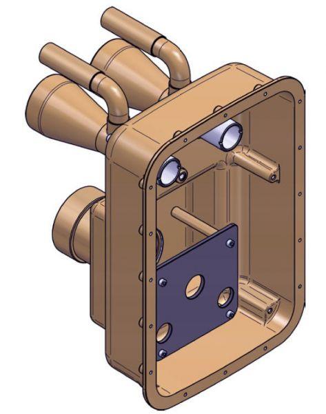 ESSENCE Einbausatz 240mm RG5 für Gegenstromanlage
