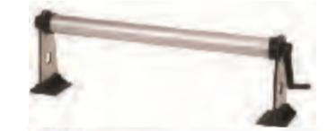 Rauchglaskonsolen (ohne Welle) 1 Paar