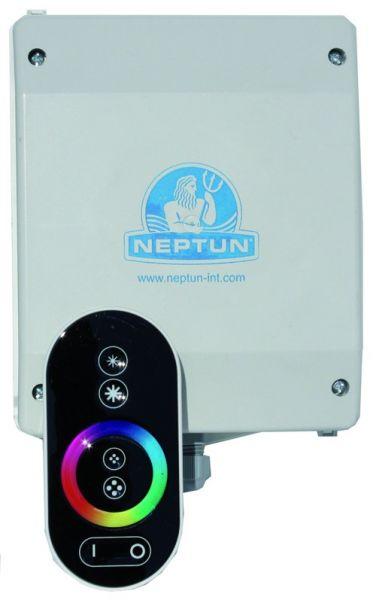 Neptun Lichtsatz für Schwalldusche