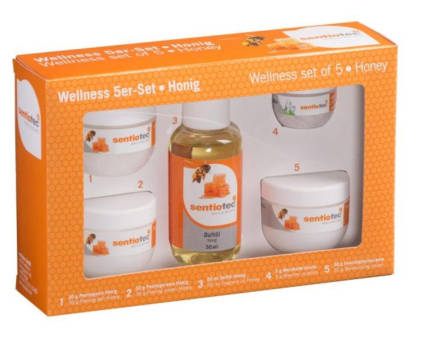 Wellness 5-er Set Honig