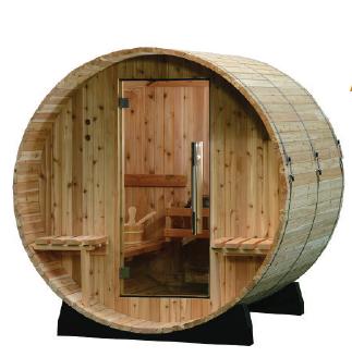 Audra Fasssauna Kanadische Western Red Cedar 1829mm x 1829mm