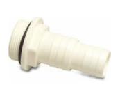 """Schlauchtülle mit zusätzlichem O-Ring ABS 1 1/2"""" x 32-38 mm Aussengewinde x Schl"""
