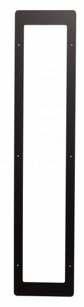 Frontblende zu IR-Strahler, Edelstahl, schwarz passend für 500W-1300W