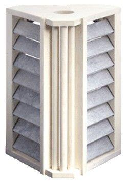 Sauna Saunaleuchten Abdeckung, dreieckig