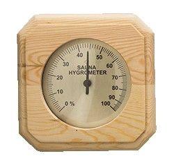 Sauna Hygrometer eckig