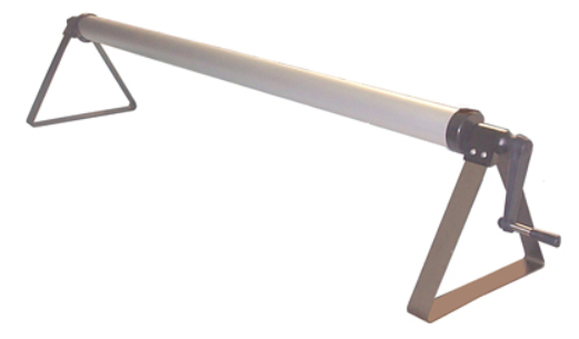 Alu-Dreieckskonsolen für Luftpolsterfolien (ohne Welle)