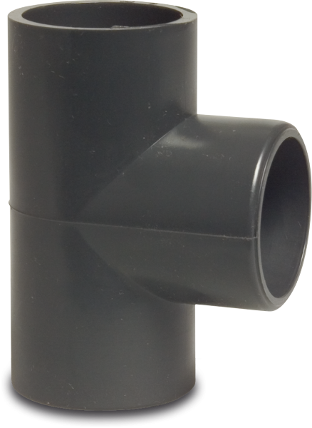 Hydro-s T-Stück 90° PVC D50 mm Klebemuffe PN16