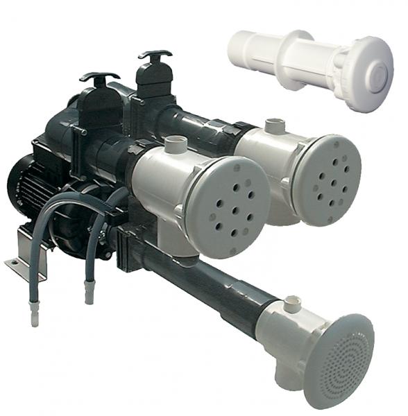 Fertigmontagesatz für Massagestation ABS 2kW/230V