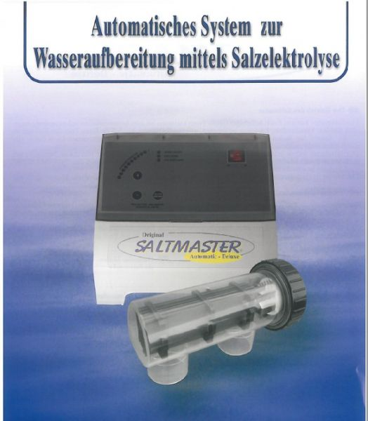 Salzanlage Saltmaster Self-Cleaner 20g/h für 80m³ Led