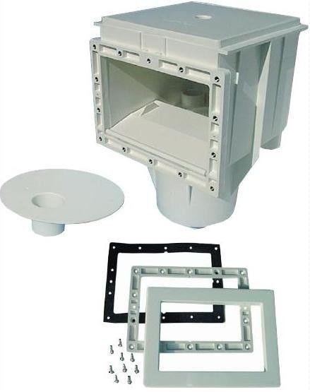 Oberflächenabsauger Neptun ABS für Folien und Polyesterbecken komplett