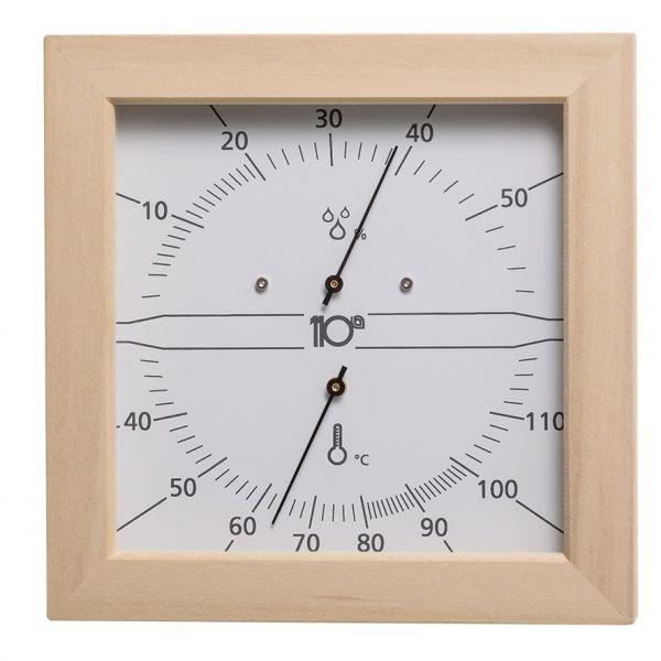 Thermo-Hygrometer Quadrat 170mm, Espe