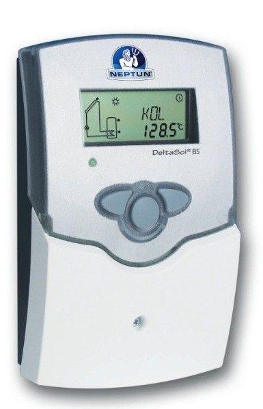 Solarsteuerung Delta Sol BS inkl. 2 Fühler & Tauchhülsen