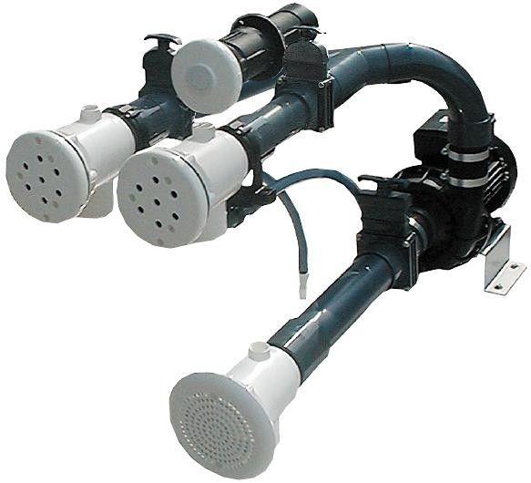 Fertigmontagesatz für Massagestation ABS 3kW/400V