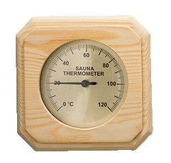 Sauna Thermometer eckig