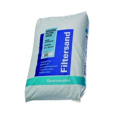 Pool OEM-P Filterquarzsand 1,0 - 2,0mm DIN 19623 25KG Filtersand